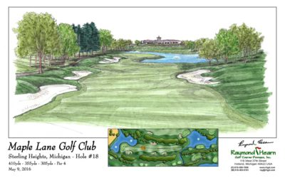 Raymond Hearn Golf Course Designs Wins ASGCA Design Excellence Award